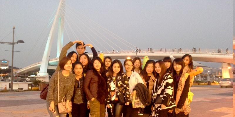台湾旅游照片合照